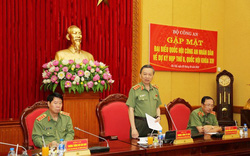 Bộ trưởng Tô Lâm gặp mặt các Đại biểu Quốc hội trong ngành Công an