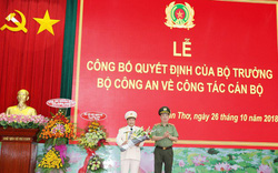 Đại tá Nguyễn Văn Thuận giữ chức vụ Giám đốc Công an TP Cần Thơ