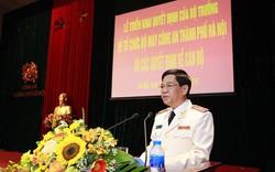 Công an TP Hà Nội đã hoàn thành việc kiện toàn, sắp xếp tổ chức bộ máy