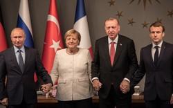 """Syria """"nóng hổi"""" từ tín hiệu thượng đỉnh Nga, Đức, Pháp và Thổ Nhĩ Kỳ"""