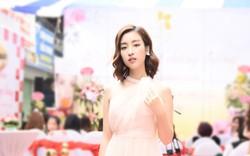 Ngắm Hoa hậu Đỗ Mỹ Linh hóa nàng thơ mỏng manh giữa trời thu Hà Nội