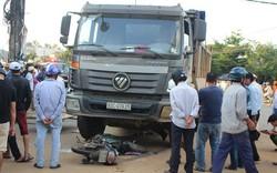 Va chạm với xe tải, người phụ nữ bị tử vong tại chỗ