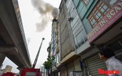Hà Nội: Cháy lớn quán karaoke 9 tầng ở phố Hào Nam