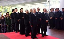 Clip: Lãnh đạo Đảng, Nhà nước viếng nguyên Tổng Bí thư Đỗ Mười