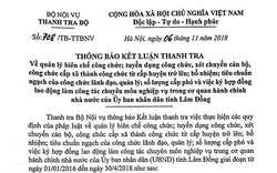 Lâm Đồng: Hàng loạt sai phạm trong công tác bổ nhiệm cán bộ