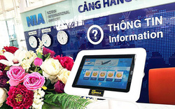 Sân bay Nội Bài thử nghiệm hệ thống nhận thông tin phản hồi điện tử