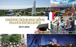Sinh viên được học bổng France Excellence nhận được sinh hoạt phí 1.060 EUR/tháng