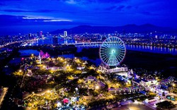Vòng quay mặt trời  Sun Wheel tại Đà Nẵng nâng cấp hệ thống chiếu sáng