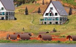 Buộc tháo dỡ 19 căn nhà gỗ xây dựng không phép tại hồ Tuyền Lâm