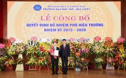 PGS.TS Triệu Hùng Trường được bổ nhiệm Phó Hiệu trưởng trường Đại học Mỏ - Địa chất