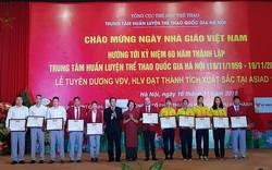 Hơn 500 triệu tiền thưởng được trao cho huấn luyện viên, vận động viên xuất sắc tại Asian Games 18
