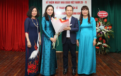 Thứ trưởng Trịnh Thị Thủy chúc mừng Ngày Nhà giáo Việt Nam