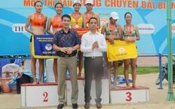Bóng chuyền bãi biển: Khánh Hòa độc chiếm ngôi đầu tại Đại hội Thể thao toàn quốc lần thứ 8