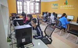 Phòng học tiếng Anh hiện đại - hiện thực hoá giấc mơ học ngoại ngữ cho sinh viên.