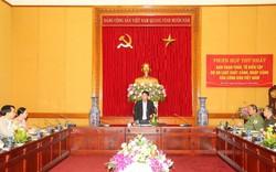 Thứ trưởng Bùi Văn Nam yêu cầu khẩn trương hoàn thiệndự án Luậtxuất cảnh, nhập cảnh của công dân