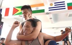 Sài Gòn xuất hiện Nhóm đấu vật biểu diễn như WWE