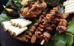 Nghệ nhân Trường Sơn – Tây Nguyên trổ tài nấu ăn