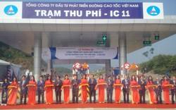 Thông xe công trình nút giao IC-11 tuyến cao tốc Nội Bài – Lào Cai
