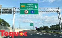 Thi công bù lún trên cao tốc Đà Nẵng – Quảng Ngãi