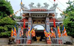 Tôn tạo Chánh điện chùa Diệu Giác, tỉnh Quảng Ngãi