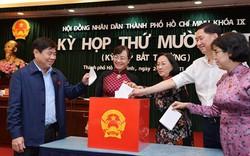Hàng loạt nhân sự mới được bầu trong phiên họp bất thường của HĐND TP.HCM