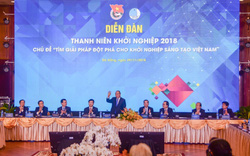 Thủ tướng dự Diễn đàn Thanh niên khởi nghiệp 2018