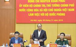 """Thủ  tướng Nguyễn Xuân Phúc: """"Lực lượng quân đội phải đề cao cảnh giác trước âm mưu chống phá của thế lực thù địch"""""""