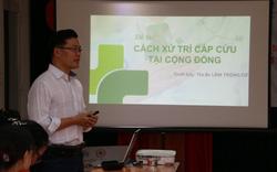 Giáo viên các trường THPT ở  Đà Nẵng học 10 kỹ thuật sơ cấp cứu