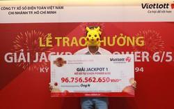 Một khách hàng trúng giải Jackpot trị giá gần một trăm tỷ đồng