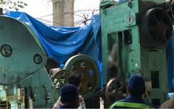 Thi thể người đàn ông mắc kẹt trong máy dập sắt sau nhiều ngày mất tích khó hiểu