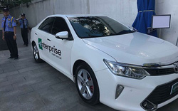 Việt Nam  là quốc gia đầu tiên tại châu Á sử dụng dịch vụ cho thuê xe của Enterprise