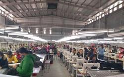 Công nhân may ở Hà Tĩnh đã trở lại làm việc khi được hứa trả lương