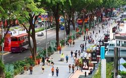Phố đi bộ Orchard Road ở Singapore cấm hút thuốc lá
