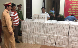 Thừa Thiên - Huế: Bắt giữ xe đầu kéo chở số lượng