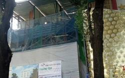 Sập giàn giáo ở trung tâm Sài Gòn, ít nhất 1 người chết