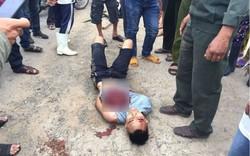 Trung tá công an bị kẻ ngáo đá đâm tử vong trên quốc lộ 1