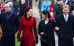 Những hình ảnh hiếm hoi cùng xuất hiện của 2 cặp đôi Hoàng gia William-Kate và Harry-Meghan
