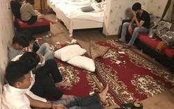 18 thanh niên nam, nữ cùng phê ma túy trong khách sạn