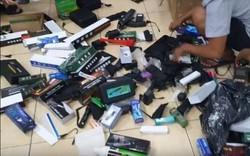Bộ Công an triệt phá đường dây buôn bán vũ khí thô sơ quy mô lớn