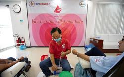 Gần 300 cán bộ, công nhân viên Tổng công ty Phát điện 2 tham gia hiến máu nhân đạo
