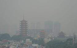 Sương mù dày đặc bao phủ cả ngày, Sài Gòn mờ ảo như Đà Lạt