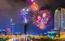 TP HCM tổ chức 2 điểm bắn pháo hoa chào năm mới 2019