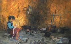 Tuổi thơ như thế: Triển lãm hội họa đầu tiên của họa sĩ Bùi Văn Tuất