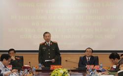 Bộ trưởng Công an yêu cầu Công an Hà nội tiếp tục triển khai quyết liệt đấu tranh trấn áp các loại tội phạm