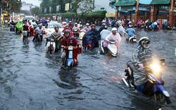 Người dân Sài Gòn sắp đối mặt với triều cường đạt đỉnh