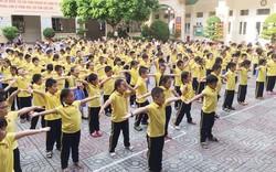 Hà Nội: Nhiều trường chưa tổ chức tập thể dục cho học sinh