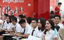 Hàng trăm cơ hội việc làm tại Hãng hàng không Vietjet Air