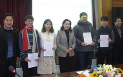 Thêm bốn sinh viên được trao Quyết định cử đi đào tạo, bồi dưỡng nguồn nhân lực văn hóa nghệ thuật ở nước ngoài