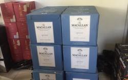 Cảnh sát phát hiện xe tải chở hàng trăm chai rượu ngoại nhập lậu