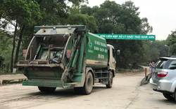 Thông xe vào khu xử lý rác Nam Sơn, Hà Nội được